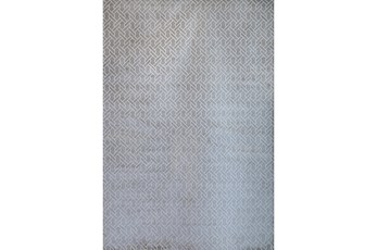 63X90 Rug-Cable Knit Silver