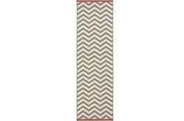 27X141 Rug-Tendu Chevron Moss