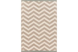 42X66 Rug-Tendu Chevron Grey