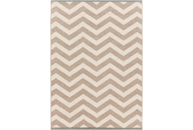 90X129 Rug-Tendu Chevron Grey - 360