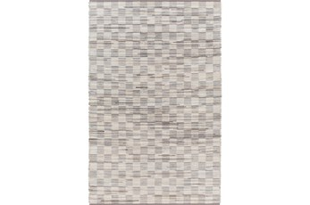 60X90 Rug-Chequers Grey/Beige