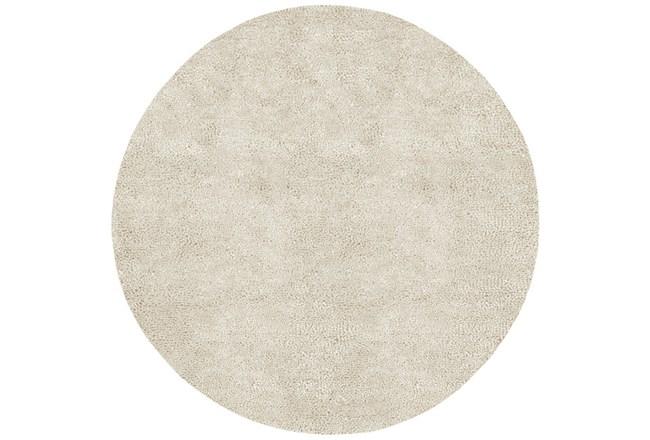 120 Inch Round Rug-Komondor Ivory - 360
