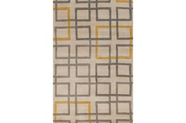 39X63 Rug-Platz Grey/Gold