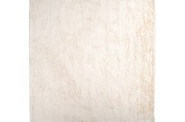 96X96 Square Rug-Bichon Ivory