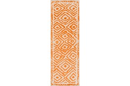 30X96 Rug-Iris Burnt Orange