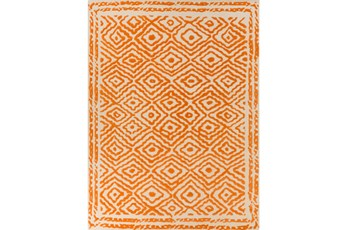 96X132 Rug-Iris Burnt Orange