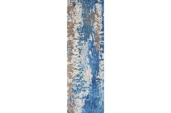 30X96 Rug-Pintura Blue