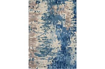 39X63 Rug-Pintura Blue