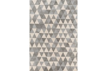 60X96 Rug-Trigon Grey
