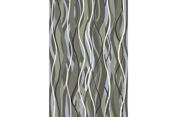60X96 Rug-Halaman Grey