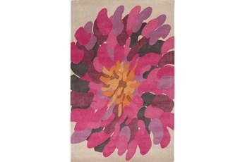 60X96 Rug-Chrysanthemum Magenta