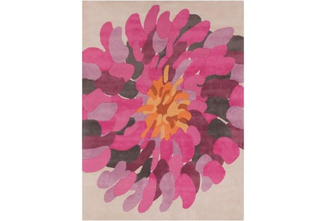 96X132 Rug-Chrysanthemum Magenta - 360