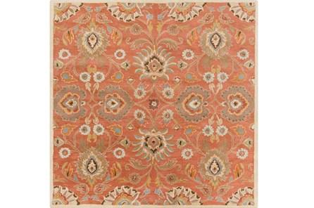 117X117 Square Rug-Lazio Rust