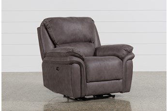 Norfolk Grey Power Recliner