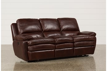Carmen Leather Power Reclining Sofa