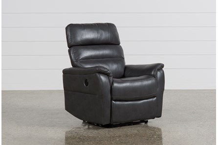 Cary Charcoal Power Wallaway Recliner