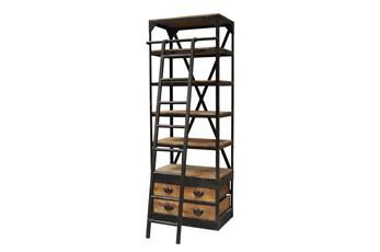 Patrin Bookcase W/Ladder