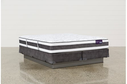 Applause II Firm Eastern King Mattress W/Foundation