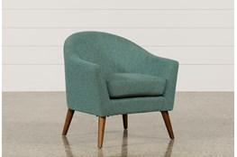 Finn Teal Accent Chair