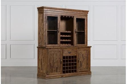 Partridge Wine Cabinet W/Hutch
