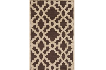 60X96 Rug-Temple Chocolate