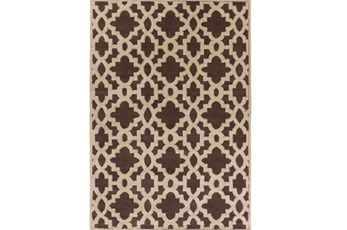 96X132 Rug-Temple Chocolate