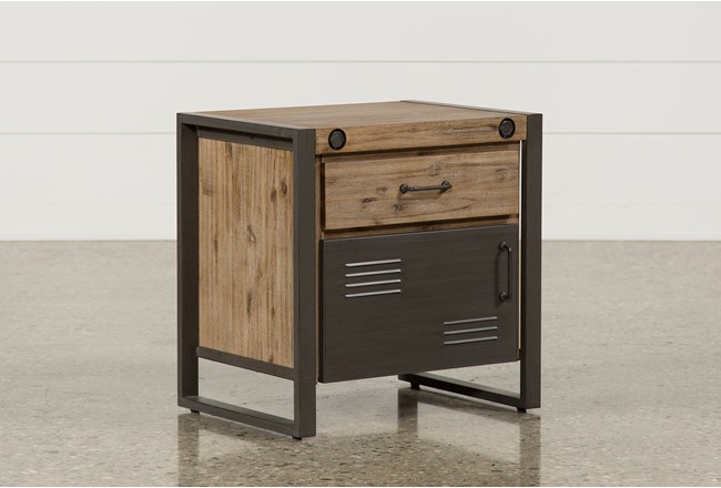 Whistler Door Nightstand - 360