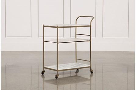 Gabon Bar Cart