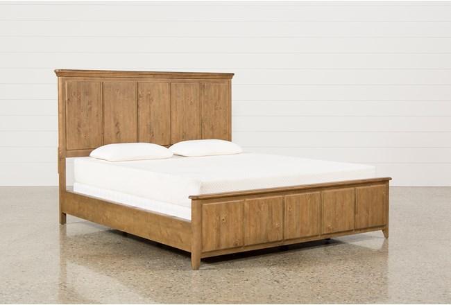Mallory California King Panel Bed - 360