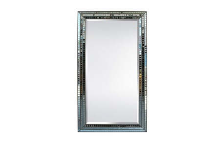 Leaner Mirror-Mosaic Glass 50X83