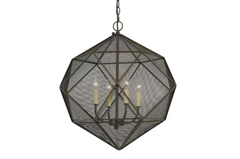 Chandelier-Caged Geometric