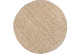 96 Inch Round Rug-Delon Beige