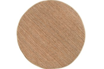 96 Inch Round Rug-Delon Taupe