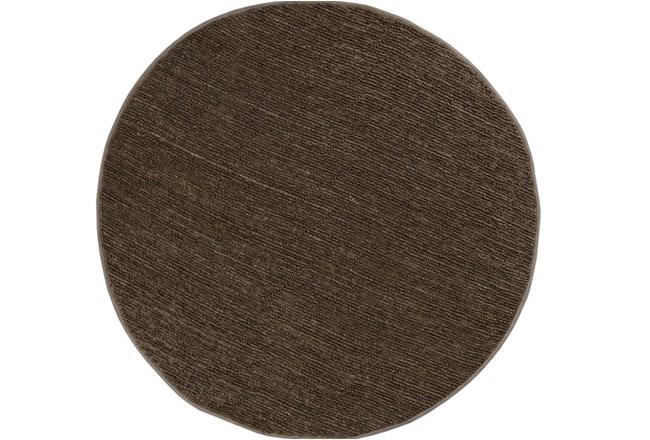 96 Inch Round Rug-Delon Olive - 360