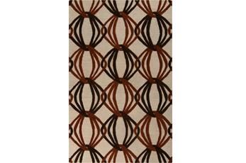 60X96 Rug-Rever Rust/Chocolate