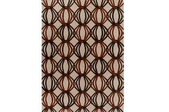 96X132 Rug-Rever Rust/Chocolate