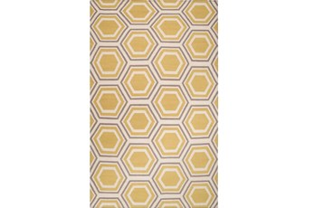 60X96 Rug-Shell Gold/Grey