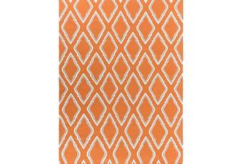 96X132 Rug-Daniel Orange