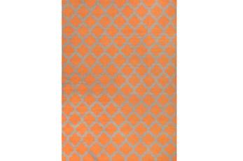 96X132 Rug-Tron Tangerine/Grey