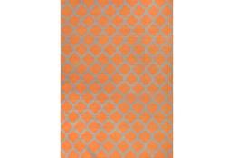 108X156 Rug-Tron Tangerine/Grey