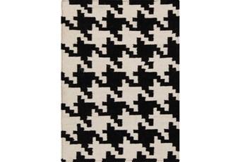 24X36 Rug-Diente Black/Ivory