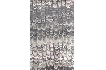 60X96 Rug-Pluma Charcoal