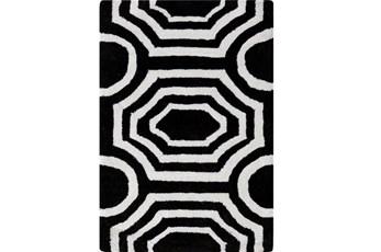 24X36 Rug-Joya Black/Ivory