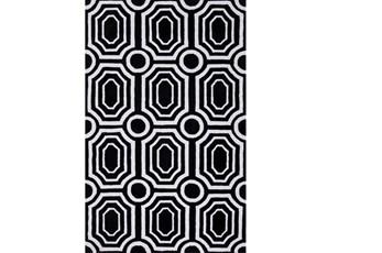 60X90 Rug-Joya Black/Ivory