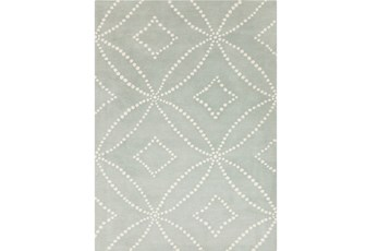 108X144 Rug-Puntada Grey/Ivory