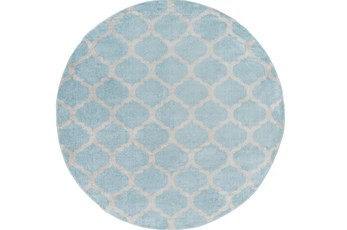 94 Inch Round Rug-Anor Slate