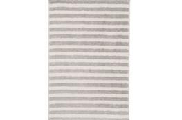 24X36 Rug-Karah Grey Stripe