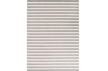 79X114 Rug-Karah Grey Stripe