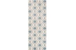 31X87 Rug-Quatrefoil Layers Beige