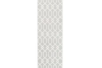 31X87 Rug-Conrad Grey
